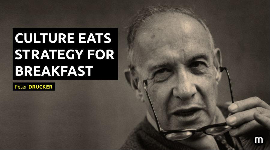 culture eats strategy for breakfast peter drucker - Sydney Brouwer -  Spreker Klantgerichtheid